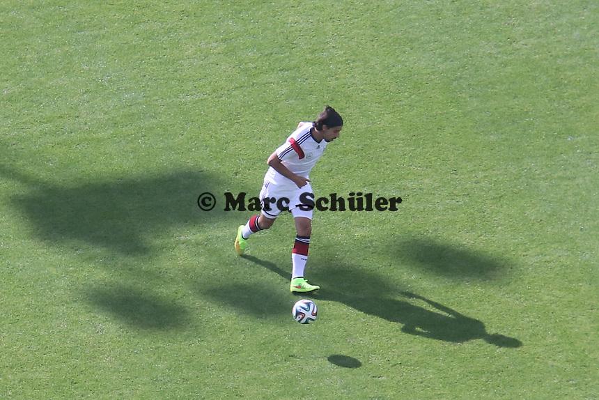 Sami Khedira - Testspiel der Deutschen Nationalmannschaft gegen die U20 im Rahmen der WM-Vorbereitung in St. Martin