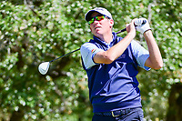 Jim Herman (USA) watches his tee shot on 2 during round 4 of the Valero Texas Open, AT&amp;T Oaks Course, TPC San Antonio, San Antonio, Texas, USA. 4/23/2017.<br /> Picture: Golffile | Ken Murray<br /> <br /> <br /> All photo usage must carry mandatory copyright credit (&copy; Golffile | Ken Murray)