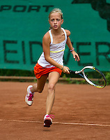 August 4, 2014, Netherlands, Dordrecht, TC Dash 35, Tennis, National Junior Championships, NJK,  Britt van Zeelst (NED)<br /> Photo: Tennisimages/Henk Koster
