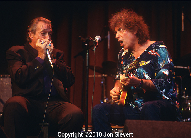 Charlie Musselwhite, Elvin Bishop, Oct 1998