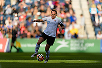 Bridgeview, IL - Sunday June 25, 2017: Christie Pearce during a regular season National Women's Soccer League (NWSL) match between the Chicago Red Stars and Sky Blue FC at Toyota Park. The Red Stars won 2-1.