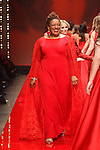 Closing walk for the Red Dress Collection 2017 fashion show, for The American Heart Association, presented by Macy's at the Hammerstein Ballroom in New York City on February 9, 2017; during New York Fashion Week Fall 2017.