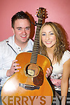 Ciera?n McCarthy and Aine O'Connor Cordal who performed in the St Kieran's Got Talent final in Castleisland Community Centre on Sunday night