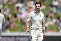 1st December 2019, Hamilton, New Zealand;  Matt Henry. International test match cricket, New Zealand versus England at Seddon Park, Hamilton, New Zealand. Sunday 1 December 2019.