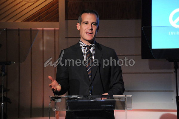 23 March 2017 - Beverly Hills, California - Eric Garcetti. Environmental Media Association Hosts The EMA IMPACT Summit held at The Montage Beverly Hills in Beverly Hills. Photo Credit: Birdie Thompson/AdMedia