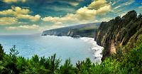 Kohala Coastline. Hawaii, the big island.