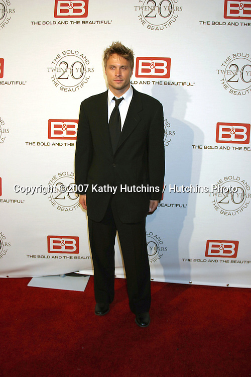 Dax Griffin.The Bold & The Beautiful 20th Anniversary Party.Two Rodeo Drive.Beverly Hills, CA.March 25, 2007.©2007 Kathy Hutchins / Hutchins Photo.