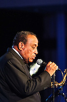 Lou Donaldson at the 2013 Monterey Jazz Festival