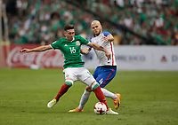 Mexico City, Mexico - Sunday June 11, 2017: Michael Bradley during a 2018 FIFA World Cup Qualifying Final Round match between the men's national teams of the United States (USA) and Mexico (MEX) at Azteca Stadium.