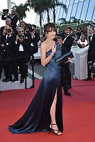 Carla Bruni-Sarkozy at 'Les Miserables' premiere, 72nd Cannes Film Festival, France on 15 May 2019.<br /> CAP/PL<br /> ©Phil Loftus/Capital Pictures