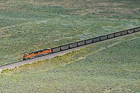 Coal train BNSF eastern Colorado. Aug 20, 2014. 812940