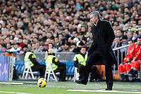 Jose Mourinho during La Liga Match. December 01, 2012. (ALTERPHOTOS/Caro Marin)