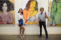 SANTA MONICA - JUN 25: Sydney Schafer, Guest at the David Bromley LA Women Art Exhibition opening reception at the Andrew Weiss Gallery on June 25, 2016 in Santa Monica, California