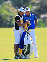 Hideto Tanihara (JPN) in action on the 5th during Round 3 of the Maybank Championship at the Saujana Golf and Country Club in Kuala Lumpur on Saturday 3rd February 2018.<br /> Picture:  Thos Caffrey / www.golffile.ie<br /> <br /> All photo usage must carry mandatory copyright credit (© Golffile | Thos Caffrey)