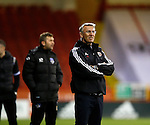 Nigel Adkins manager of Sheffield Utd- FA Cup Second round - Sheffield Utd vs Oldham Athletic - Bramall Lane Stadium - Sheffield - England - 5th December 2015 - Picture Simon Bellis/Sportimage