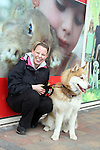 "Christine Monaghan with Nikita enjoying ""National Dog Walking Day"" at Petmania...(Photo credit should read Jenny Matthews www.newsfile.ie)....This Picture has been sent you under the conditions enclosed by:.Newsfile Ltd..The Studio,.Millmount Abbey,.Drogheda,.Co Meath..Ireland..Tel: +353(0)41-9871240.Fax: +353(0)41-9871260.GSM: +353(0)86-2500958.email: pictures@newsfile.ie.www.newsfile.ie."