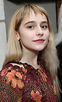 Sophia Ann Caruso attends the Broadway Opening Night of  'Saint Joan' at the Samuel J. Friedman Theatre on April 25, 2018 in New York City.