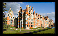 Founder's Building (Built 1874-1881) Royal Holloway College - University of London - Egham, Surrey.