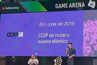 SÃO PAULO, SP, 05.12.2018 - CCXP - Pierre Mantovani, CEO do Omelete durante a Comic Con Experience na São Paulo Expo no bairro da Água Funda, na região Sul da cidade de São Paulo nesta quarta-feira, 05.  (Foto: Anderson Lira/Brazil Photo Press)