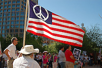 Protest against George Bush and John McCain - Phoenix, Arizona