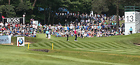 View of the 13th green during Round Three of the 2016 BMW PGA Championship over the West Course at Wentworth, Virginia Water, London. 28/05/2016. Picture: Golffile   David Lloyd. <br /> <br /> All photo usage must display a mandatory copyright credit to © Golffile   David Lloyd.