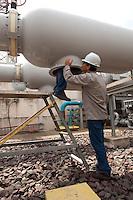 Manutenção de transformador 500 Kv. UHE Tucuruí.<br /> Tucuruí, Pará, Brasil.<br /> Foto Paulo Santos.<br /> 27/08/2013