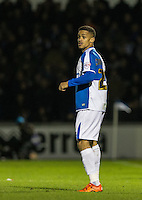 Paris Cowan-Hall of Bristol Rovers during the Sky Bet League 2 rearranged match between Bristol Rovers and Wycombe Wanderers at the Memorial Stadium, Bristol, England on 1 December 2015. Photo by Andy Rowland.