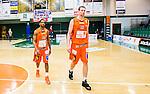 S&ouml;dert&auml;lje 2015-01-17 Basket Basketligan S&ouml;dert&auml;lje Kings - Bor&aring;s Basket :  <br /> Bor&aring;s James JJ Miller  och Mike Palm deppar efter matchen mellan S&ouml;dert&auml;lje Kings och Bor&aring;s Basket <br /> (Foto: Kenta J&ouml;nsson) Nyckelord:  Basket Basketligan S&ouml;dert&auml;lje Kings SBBK T&auml;ljehallen Bor&aring;s depp besviken besvikelse sorg ledsen deppig nedst&auml;md uppgiven sad disappointment disappointed dejected