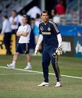 Henrique Hilario.  The MLS All-Stars defeated Chelsea, 3-2.