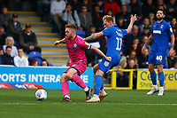 Callum Camps of Rochdale AFC and Mitchell Pinnock of AFC Wimbledon during AFC Wimbledon vs Rochdale, Sky Bet EFL League 1 Football at the Cherry Red Records Stadium on 5th October 2019