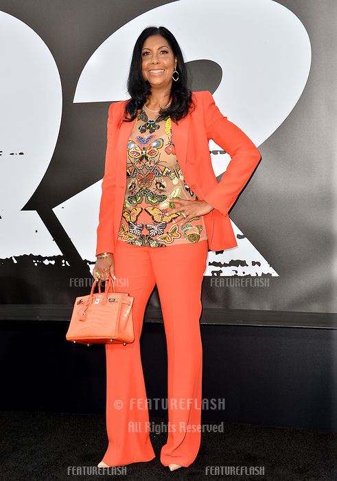 Cookie Johnson at the premiere for &quot;The Equalizer 2&quot; at the TCL Chinese Theatre, Los Angeles, USA 17 July 2018<br /> Picture: Paul Smith/Featureflash/SilverHub 0208 004 5359 sales@silverhubmedia.com