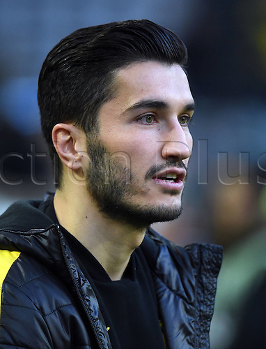 07.04.2016. Dortmund, Germany. Europa League quarterfinal. Borussia Dortmund versis Liverpool FC.  Ilkay Guendogan (Borussia Dortmund) watches during warm-ups