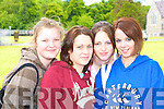 Josie O'Sullivan, Shauna Scanlon, Karen Kelliher and Carol Heart Killarney who sat their leaving cert in St Bridgid's secondary school Killarney on Wednesday    Copyright Kerry's Eye 2008