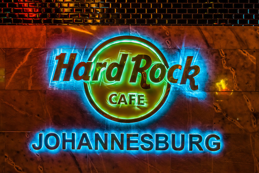 Hard Rock Cafe, Nelson Mandela Square, Sandton, Johannesburg, South Africa.