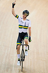 Cameron Meyer of Australia celebrates after winning the Men's Points Race Final during the 2017 UCI Track Cycling World Championships on 14 April 2017, in Hong Kong Velodrome, Hong Kong, China. Photo by Victor Fraile / Power Sport Images