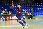 League LNFS 2017/2018 - Game 15.<br /> FC Barcelona Lassa vs Gran Canaria FS: 9-2.<br /> Joselito Fernandez.