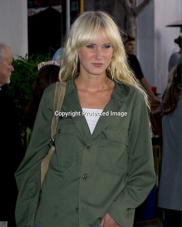 """@2003 KATHY HUTCHINS / HUTCHINS PHOTO AGENCY.""""The Hulk"""" Premiere.UNIVERSAL AMPITHEATER.UNIVERSAL CITY, CA.JUNE 17 , 2003..KIMBERLY STEWART"""