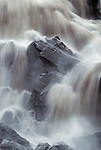 Waterfall, Icy Bay, Alaska, USA