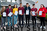 Pictured receiving their leaving cert results at Kenmare's<br /> Pobalscoil Inbhear Sc&eacute;ine were L-R Ciara Cronin, Dion Burke, Keely Randles,Mark Riordan, Jordan Schmidith, Micheal McMarthy, Joanne McCarthy.