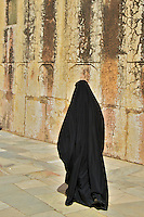 Visiting Muslim Women at the Amber Fort Jaipur, Rajasthan India