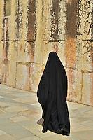 Visiting Muslim Women at the Amber Fort Jaipur, Rajasthan India