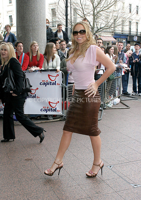WWW.ACEPIXS.COM . . . . .  ... . . . . US SALES ONLY . . . . .....LONDON, MARCH 23, 2005....Mariah Carey at the Capital FM Awards held at the Royal Lancaster Hotel....Please byline: FAMOUS-ACE PICTURES-F. DUVAL... . . . .  ....Ace Pictures, Inc:  ..Craig Ashby (212) 243-8787..e-mail: picturedesk@acepixs.com..web: http://www.acepixs.com