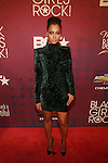 Lala Anthony Wearing A Balmain Velvet Dress Attends BLACK GIRLS ROCK! 2012 Held at The Loews Paradise Theater in the Bronx, NY   10/13/12
