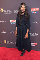Naomi Campbell attends the BAFTA Los Angeles Awards Season Tea Party at Hotel Four Seasons in Beverly Hills, California, USA, on 06 January 2018. Photo: Hubert Boesl - NO WIRE SERVICE - Photo: Hubert Boesl/dpa /MediaPunch ***FOR USA ONLY***