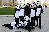 Sophie Ellis Bextor launches the WWF Earth Hour UK on the South Bank, London. 29/03/2014 Picture by: Steve Vas / Featureflash