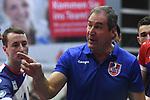 13.10.2018,  Lueneburg GER, VBL, SVG Lueneburg vs United Volleys Rhein-Main im Bild Trainer Stelio DeRocco (Rhein-Main) / Foto © nordphoto / Witke