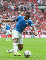 Raheem Sterling of Manchester City during the FA Community Shield match between Liverpool and Manchester City at Wembley Stadium on August 4th 2019 in London, England. (Photo by John Rainford/phcimages.com)<br /> Foto PHC/Insidefoto <br /> ITALY ONLY