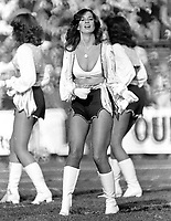 Oakland Raiderette...(1981 ?) photo/Ron Riesterer