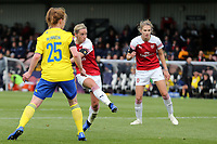Jordan Nobbs of Arsenal Women scores the third goal during Arsenal Women vs Birmingham City Ladies, FA Women's Super League Football at Meadow Park on 4th November 2018