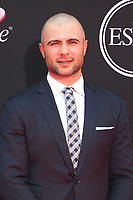LOS ANGELES, CA - JULY 12: Mark Giordano at The 25th ESPYS at the Microsoft Theatre in Los Angeles, California on July 12, 2017. Credit: Faye Sadou/MediaPunch